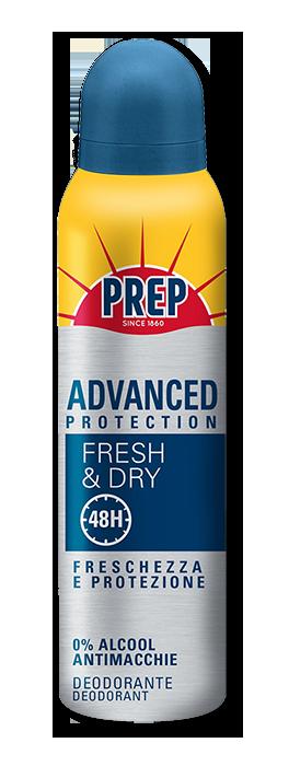 Linea Deodoranti Antitraspiranti PREP